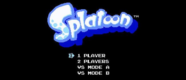 Splatoon Nintendo 8 bits EGLA