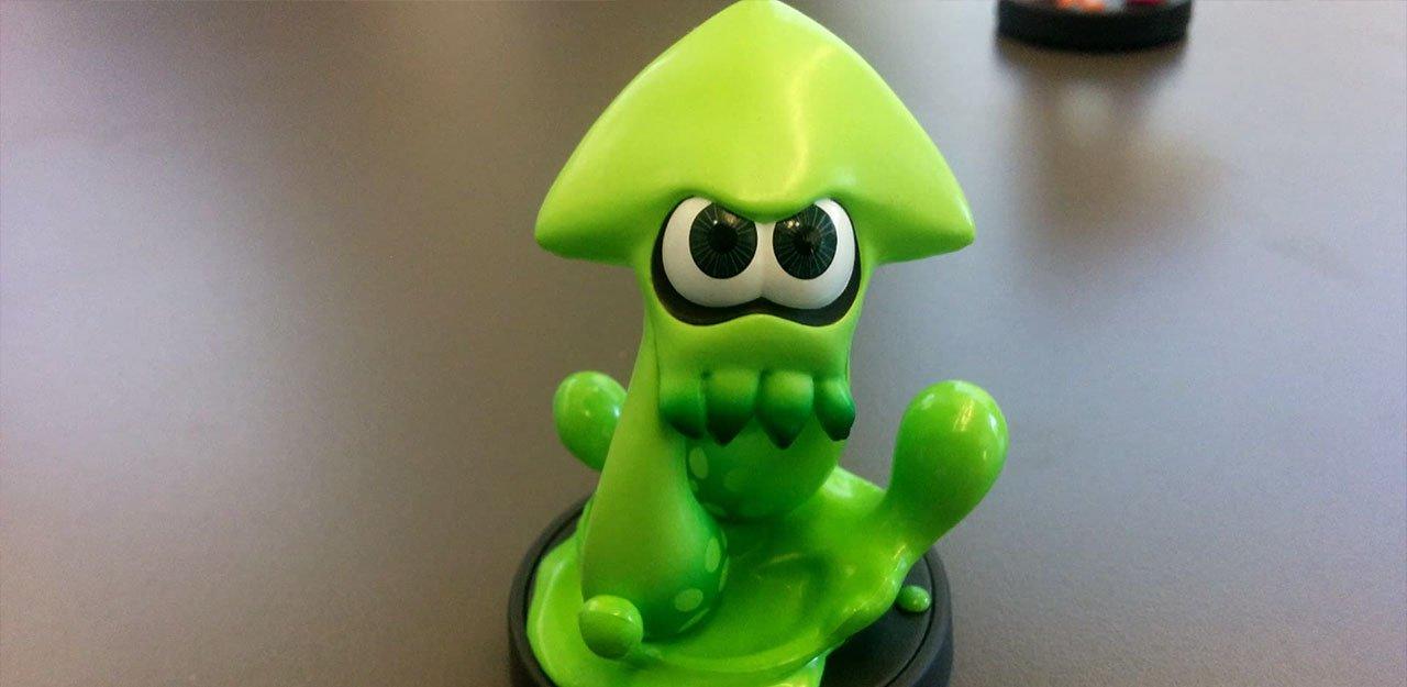 Splatoon Nintendo Amiibo inkling calamar EGLA