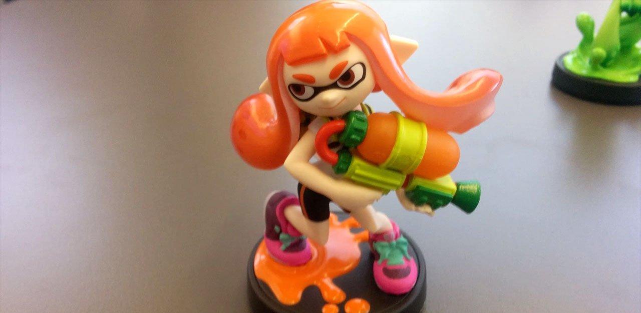 Splatoon Nintendo Amiibo inkling chica EGLA