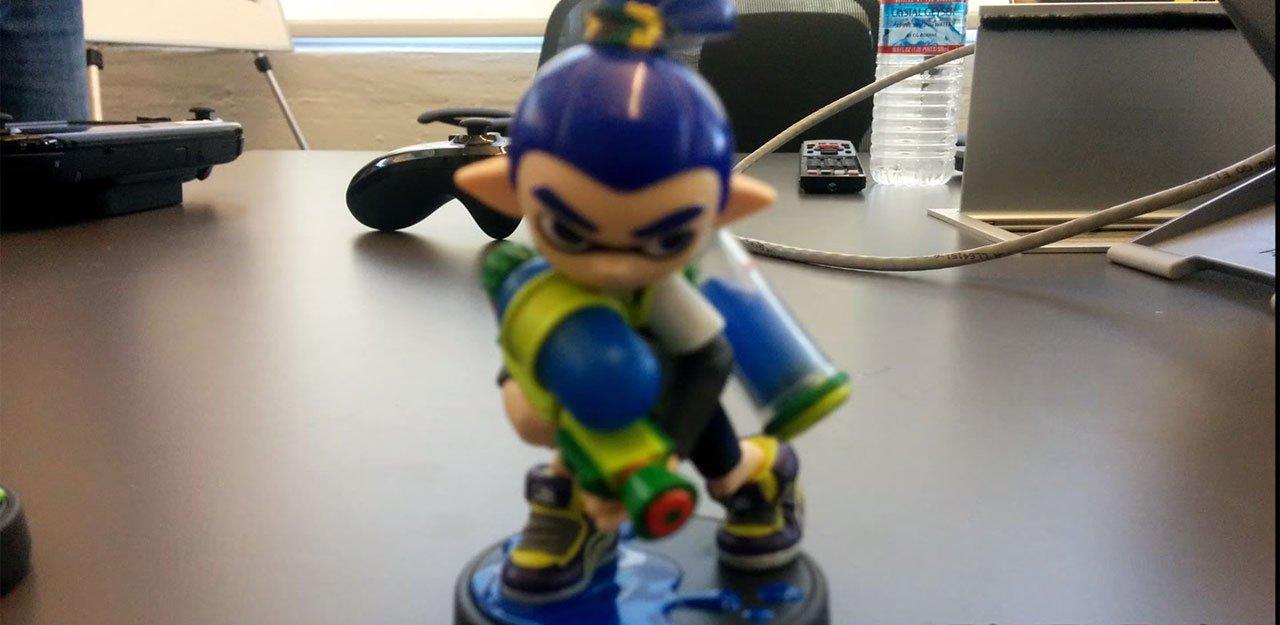 Splatoon Nintendo Amiibo inkling chico EGLA