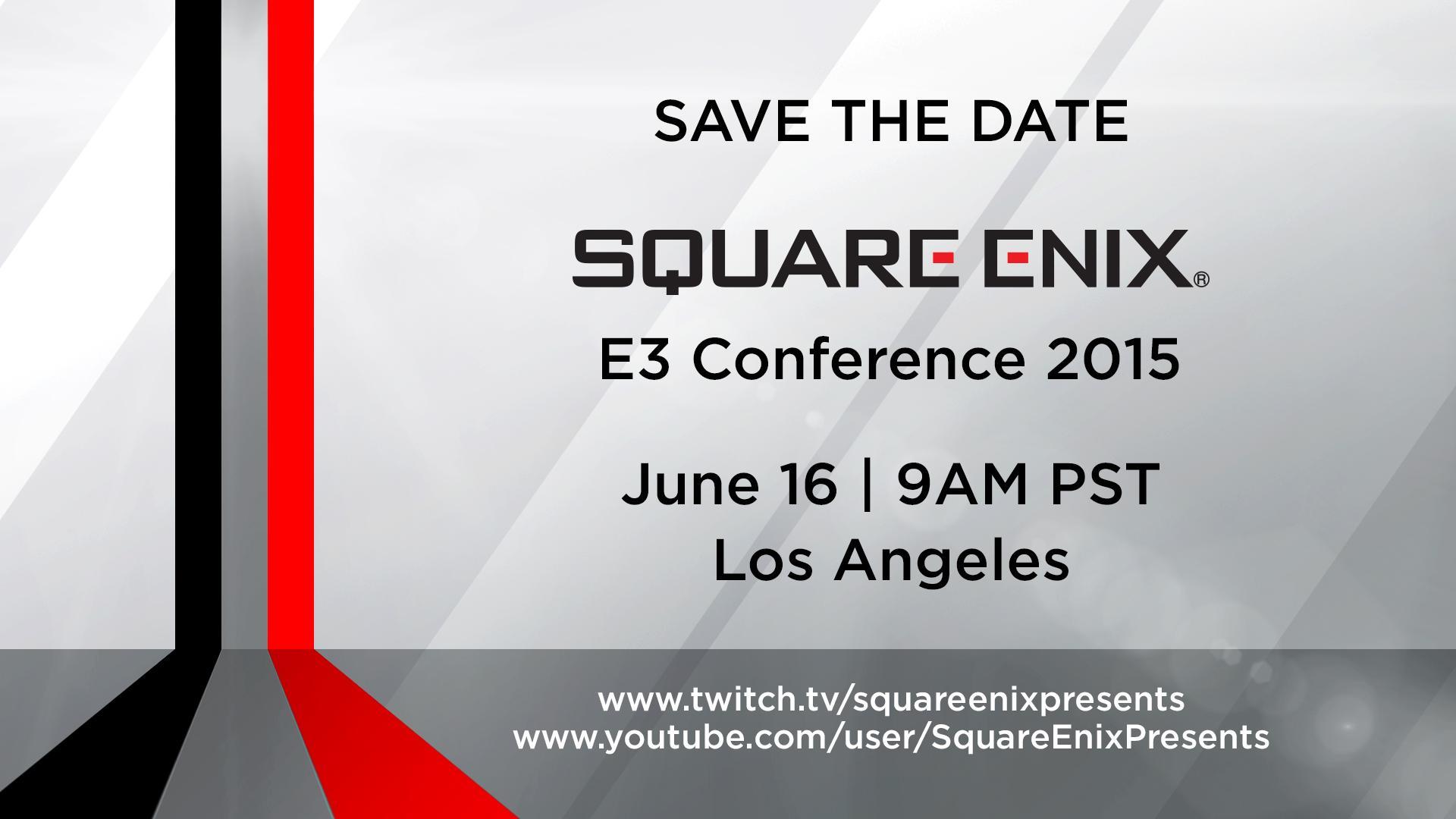 Square Enix E3 2015 EGLA
