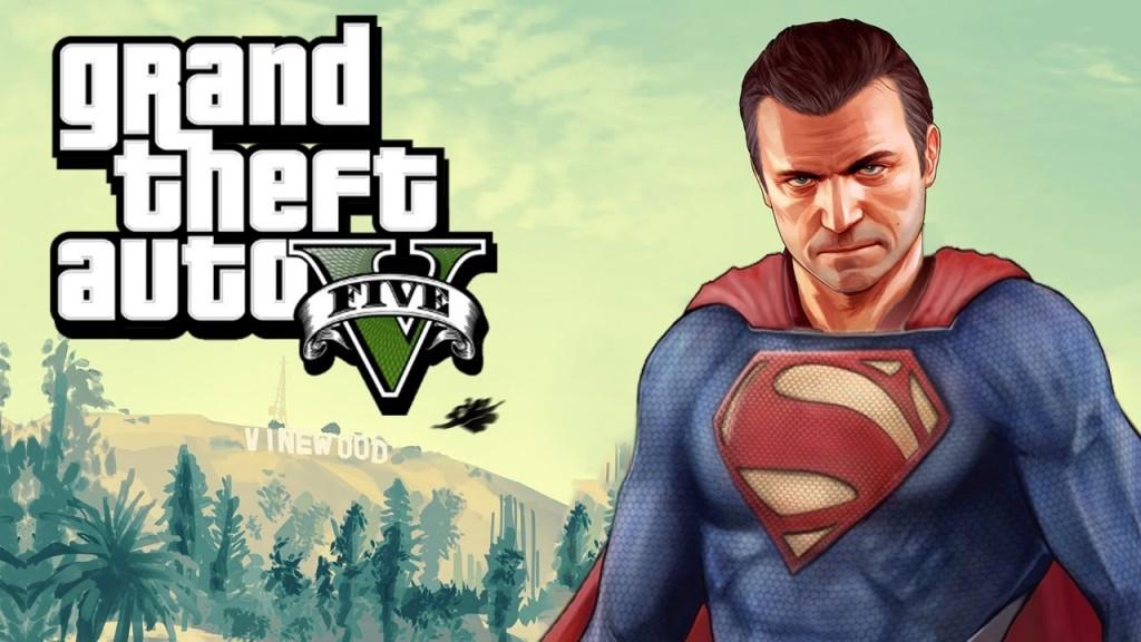 Super Man GTA V EGLA