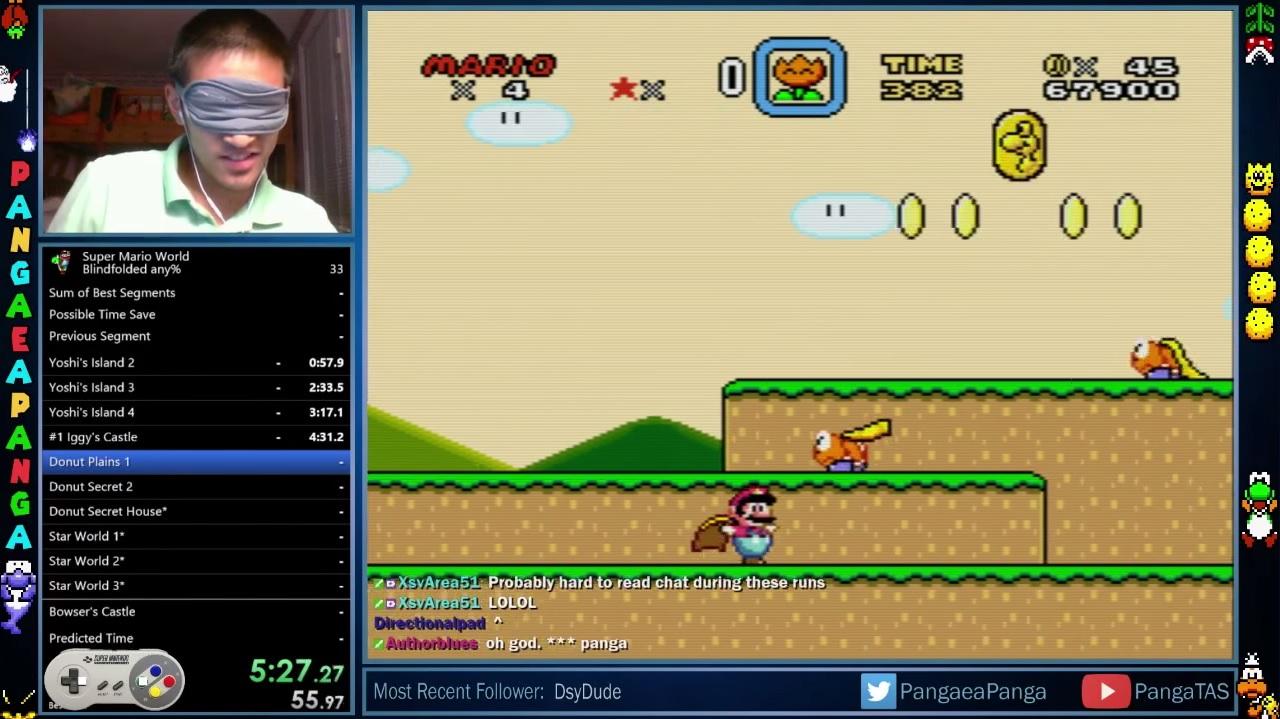 Super Mario World Speedrun EGLA