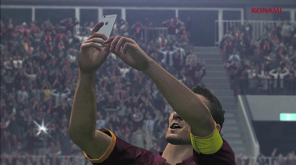 Totti Selfie Pes 2016 EGLA