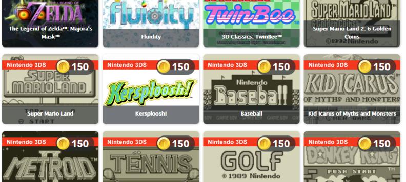 Club Nintendo Deals