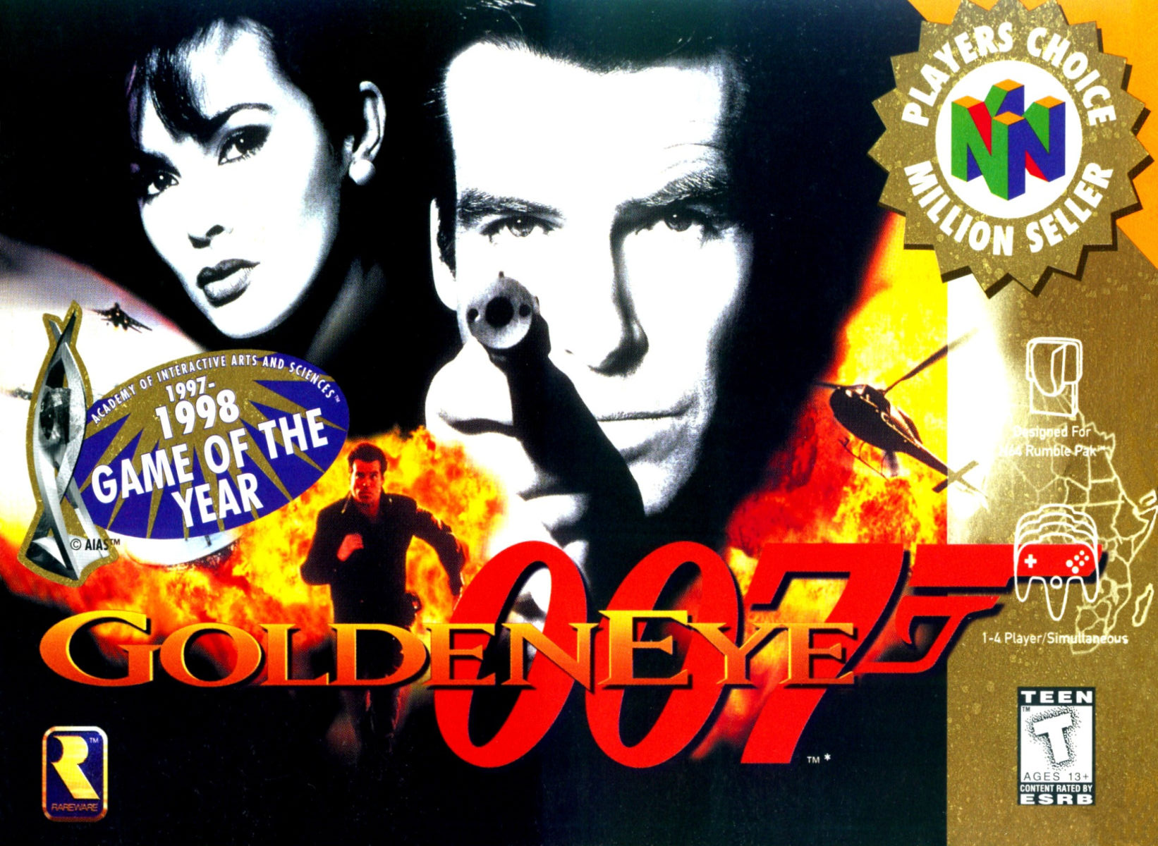 007 Goldeneye egla