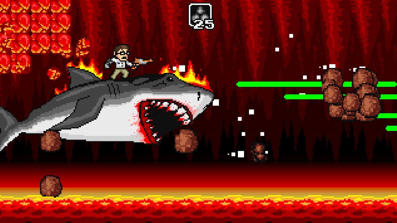 AVGN Adventures 2 shark