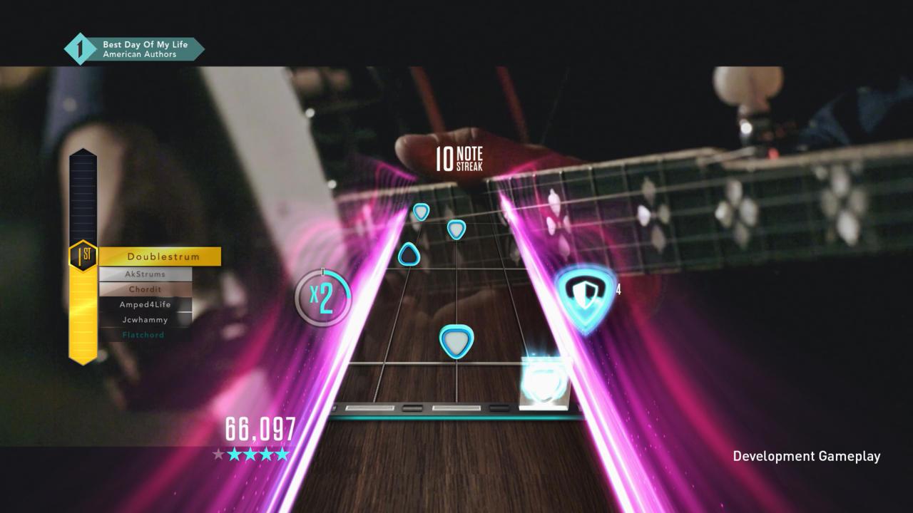 Guitar Hero Live egla