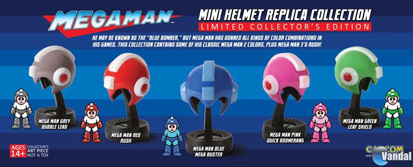 Mini cascos megaman EGLA