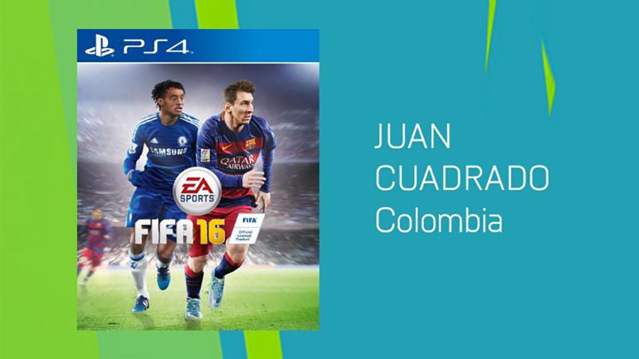 Ps4 Messi Cuadrado FIFA 16 EGLA