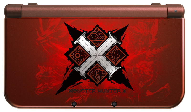 new nintendo 3ds xl Monster Hunter X