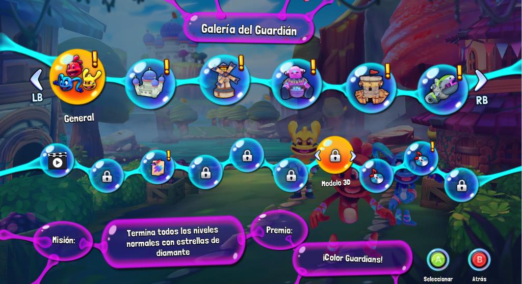Color Guardians extras