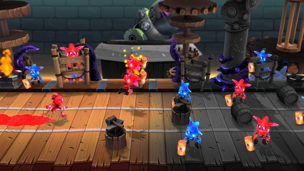 Color Guardians jugabilidad 2