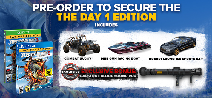 Just Cause 3 Day 1 Edition
