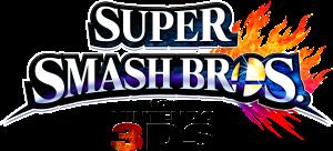 Super Smash bros. for 3DS logo
