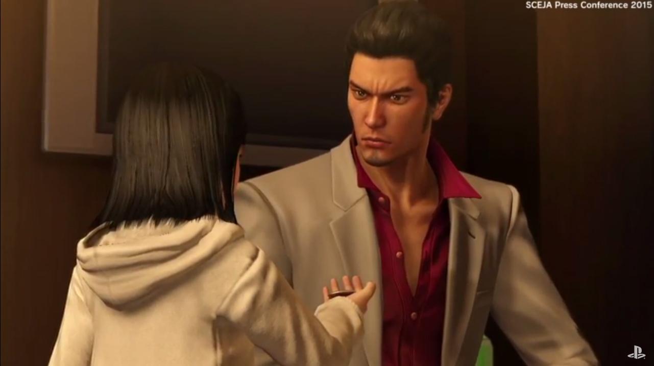 Ryu ga Gotoku kinwami primer Yakuza remasterizado