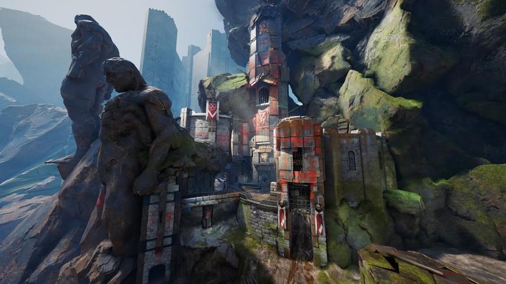 Unreal Tournament ctf mapas titan pass