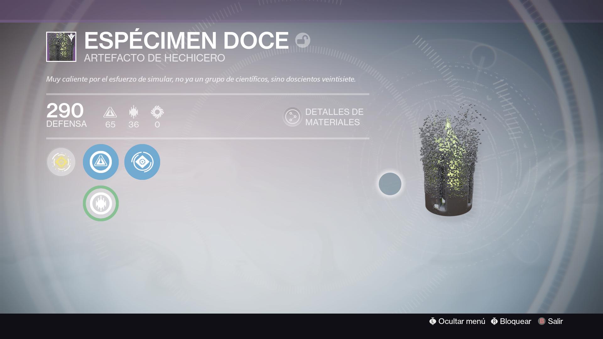Destiny the taken king el rey de los poseidos artefacto