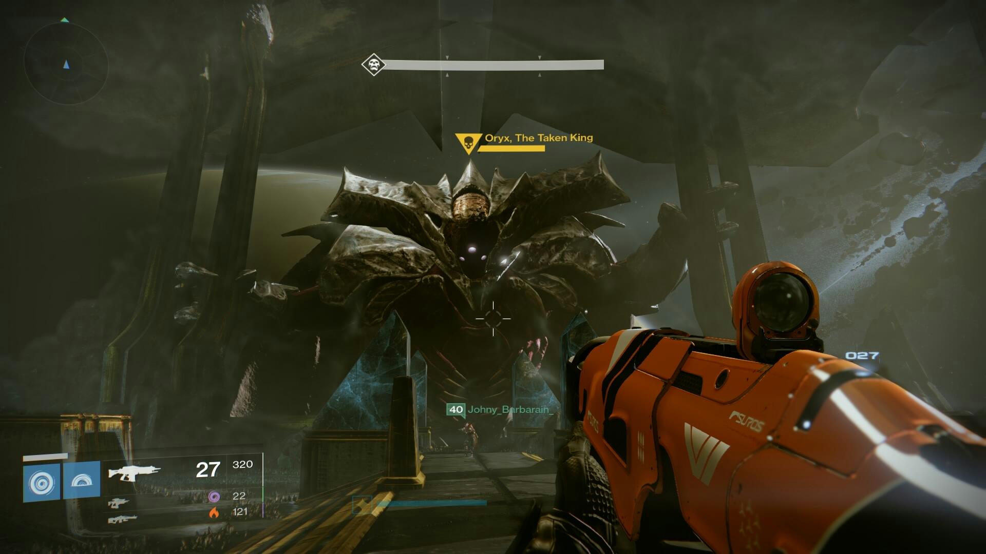 Destiny The Taken King el rey de los poseidos incursion la caida de oryx 1