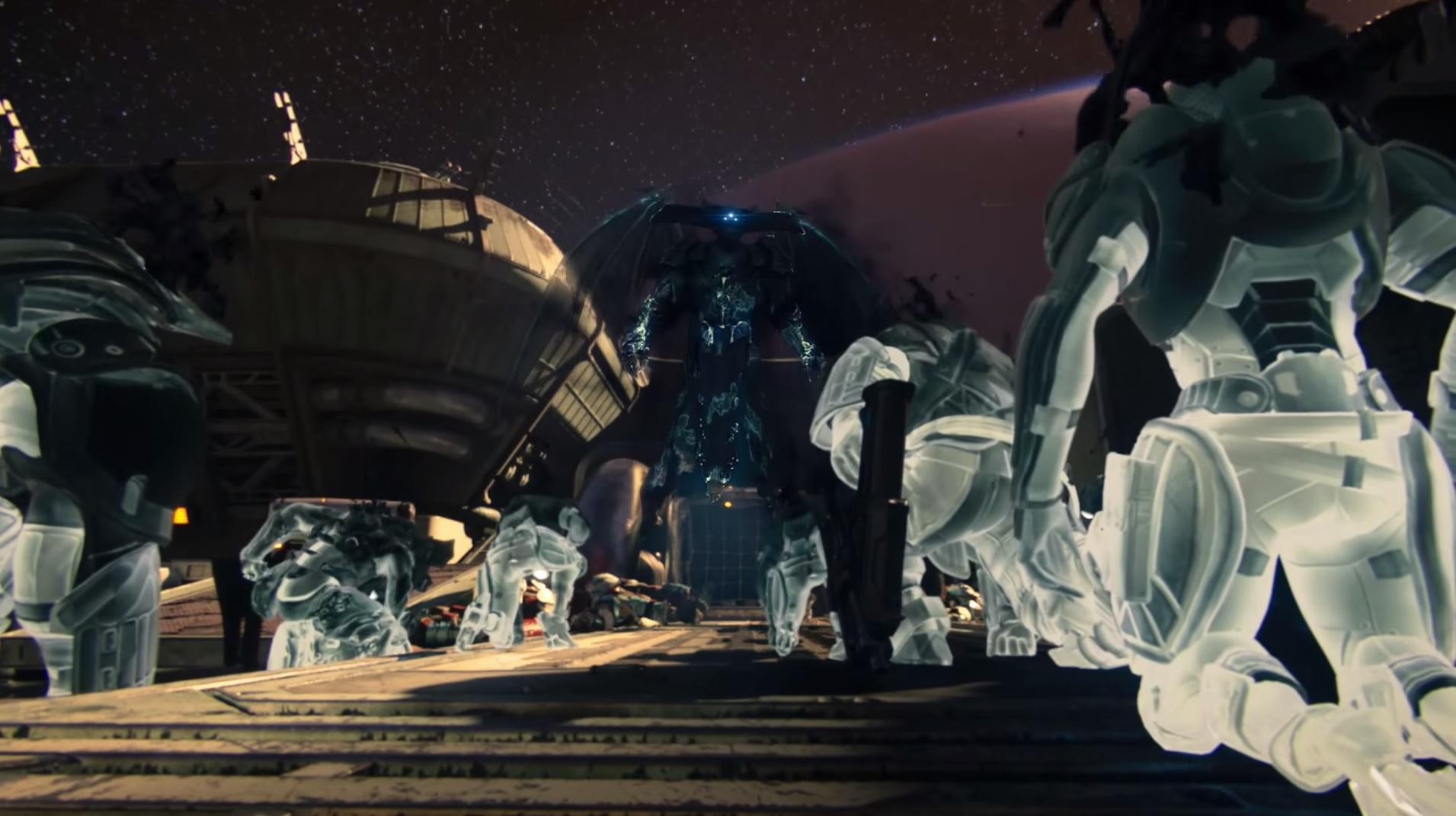 Destiny The Taken King el rey de los poseidos oryx y su ejercito