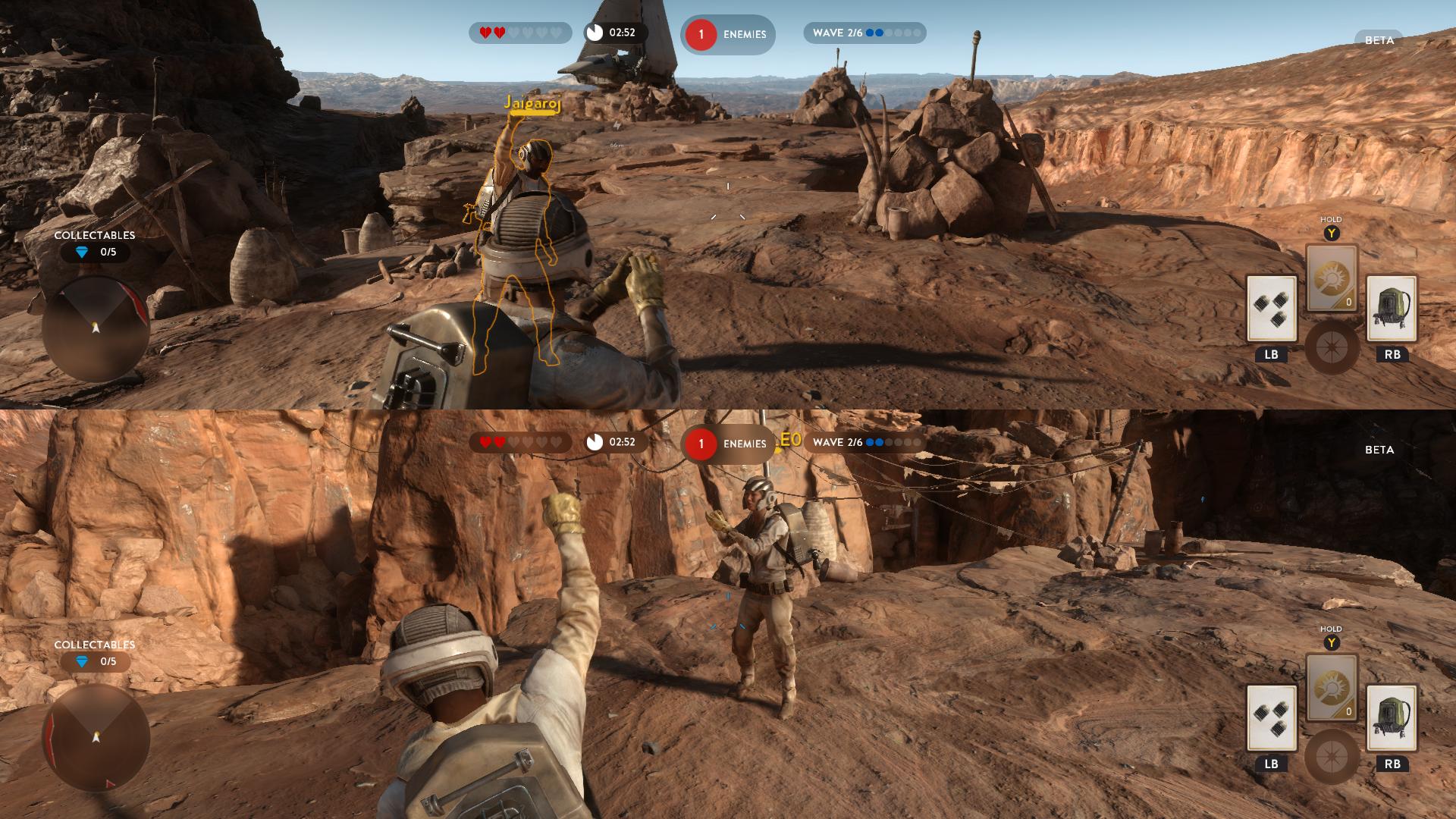 Star Wars Battlefront Beta 1