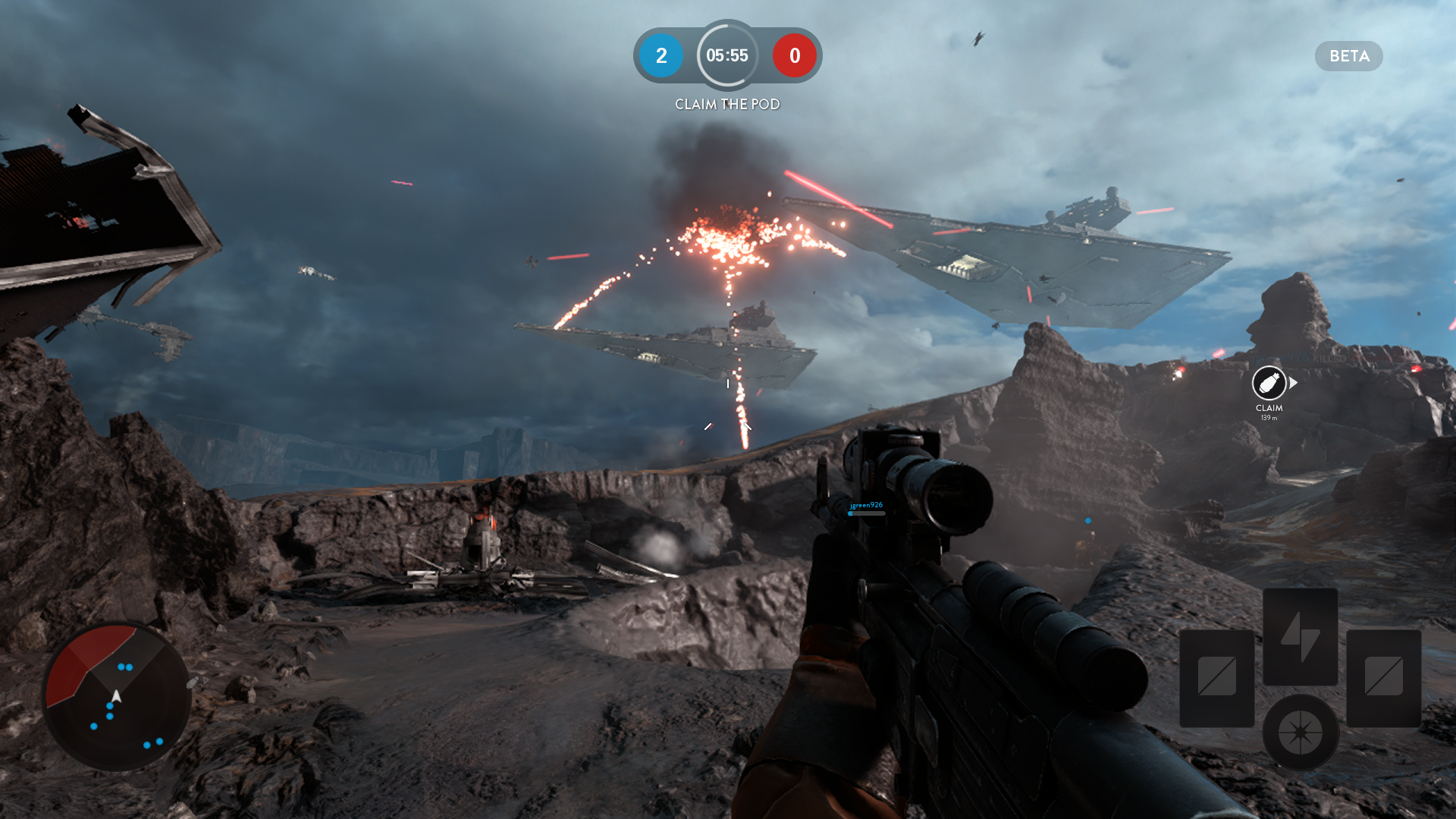 Star Wars Battlefront Beta (3
