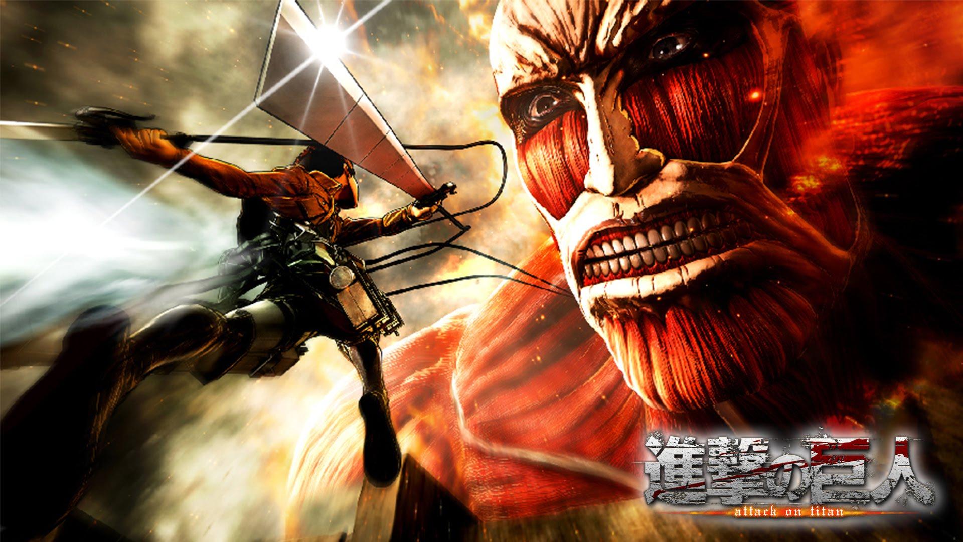 Attack on titan juego