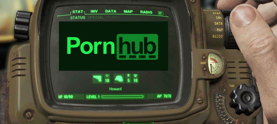 Fallout 4 pornhub pip-boy