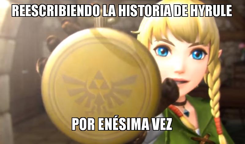 Linkle Hyrule Warriors meme
