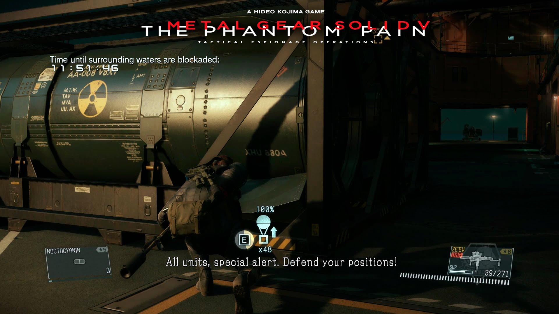 Metal Gear Solid V The Phantom Pain desarme nuclear nukes