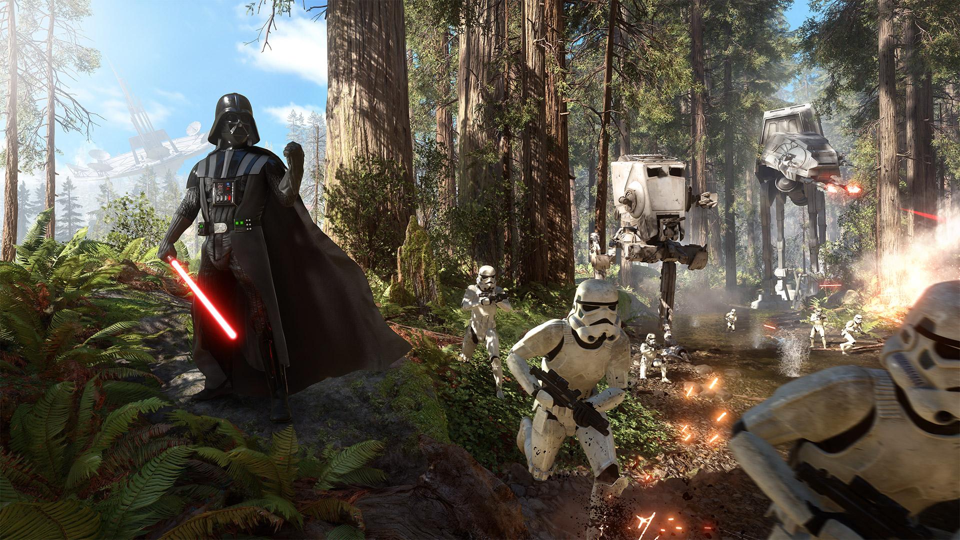 Star Wars: Battlefront luna de Endor EGLA