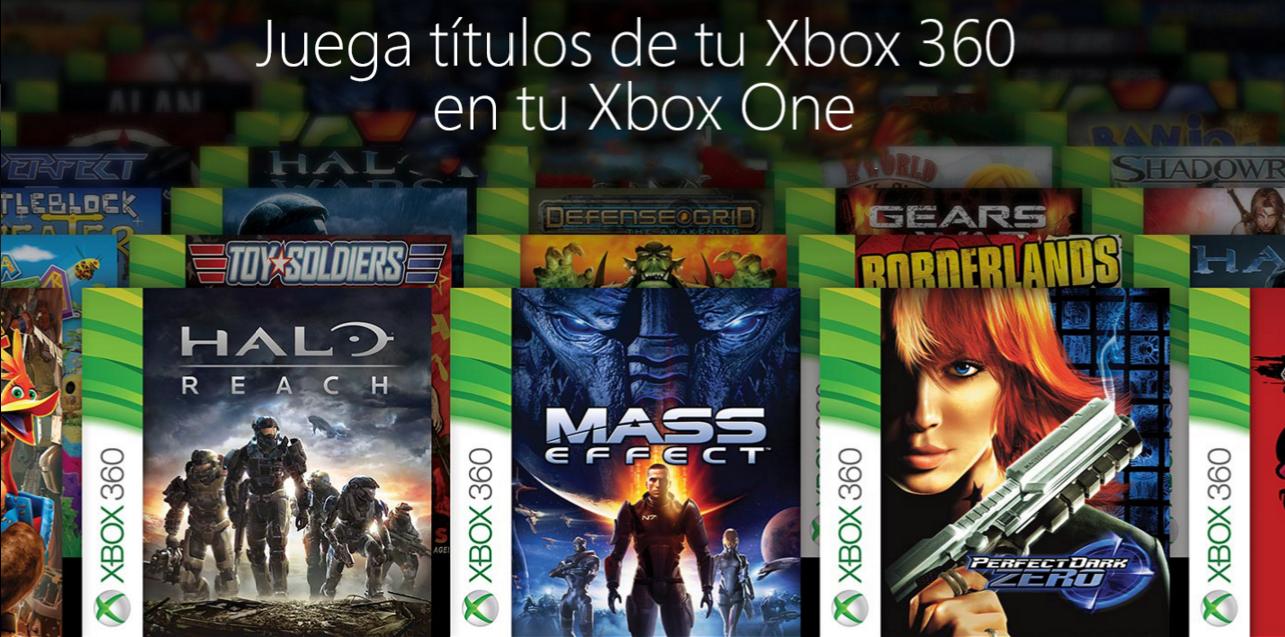 Xbox 360 retrocompatibilidad xbox one 2