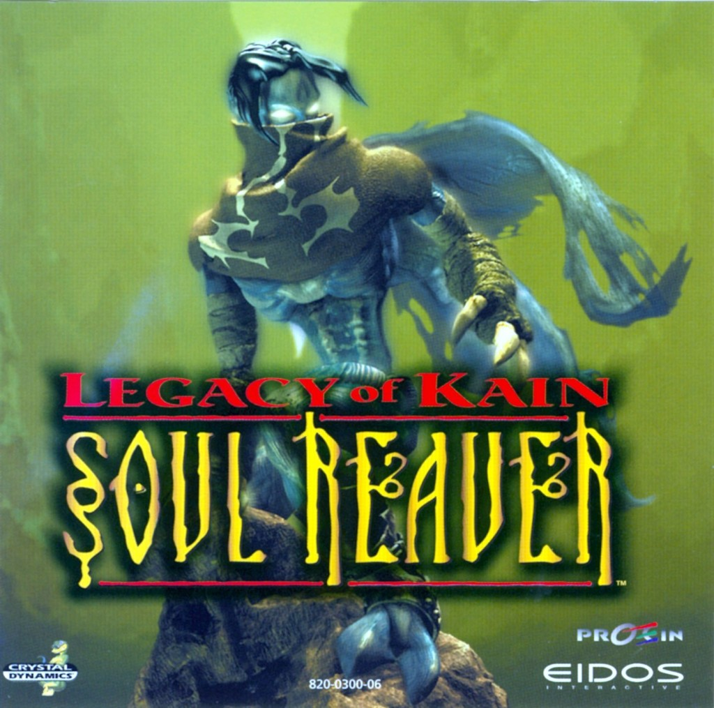 the legacy of kain soul reaver boxart ps1