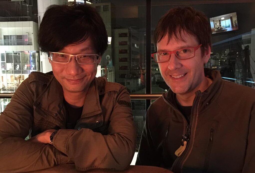 Hideo Kojima y Mark Cerny