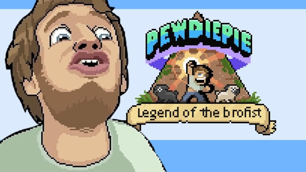 PewDiePie Legend of the Brofis