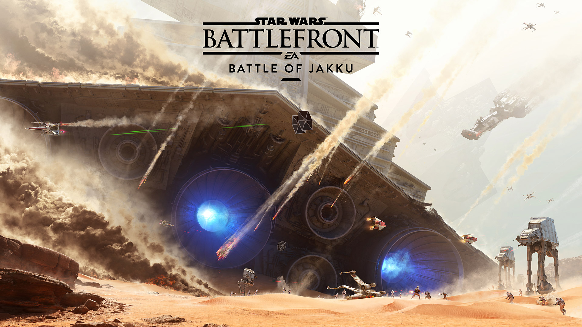 Star Wars Battlefront battle of jakku batalla de jakku dlc