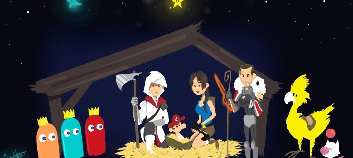 Navidad Gamer gamer pobre