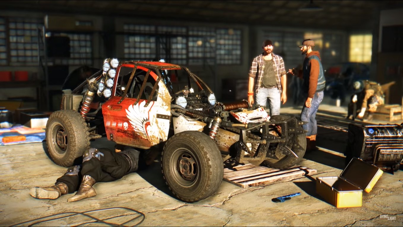 Dying Light The Following buggies