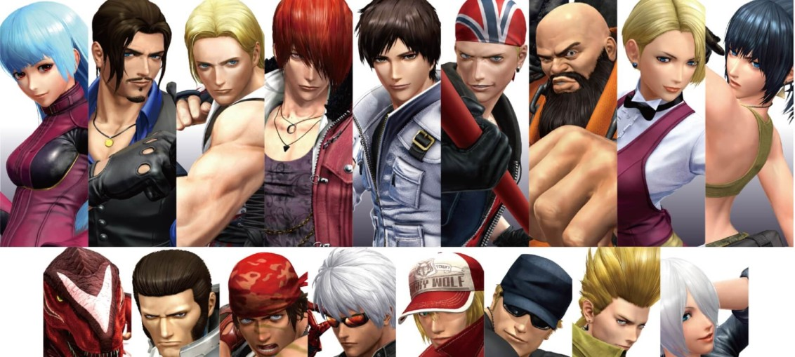 King of Fighters XIV elenco