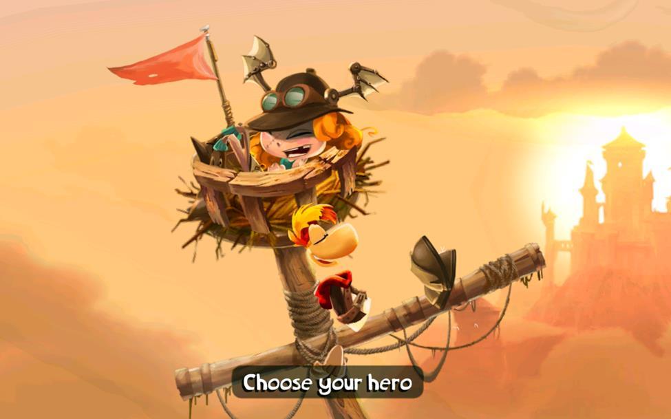 Rayman Adventure 1