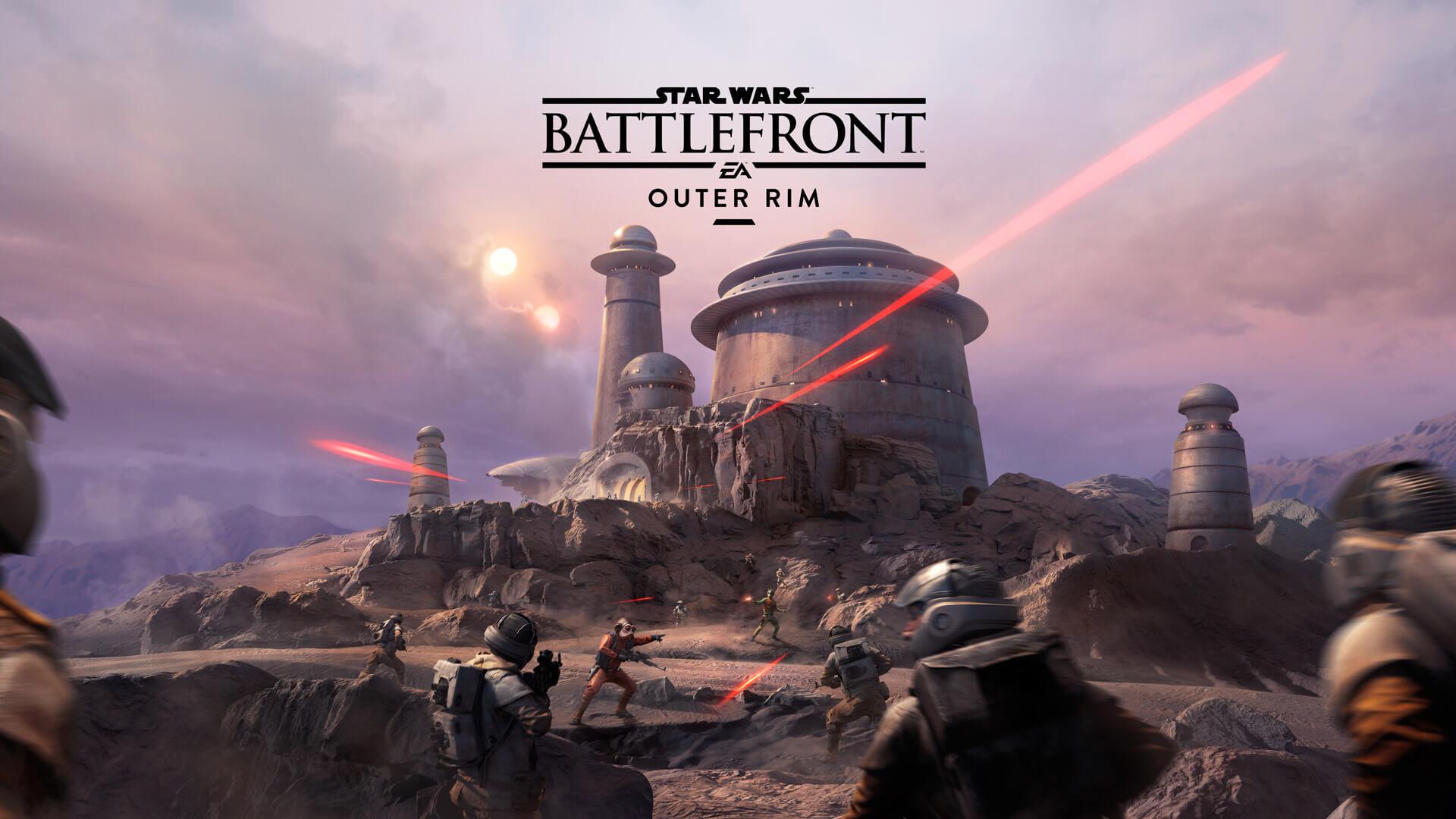 Star Wars Battlefront Outer Rim Borde Exterior