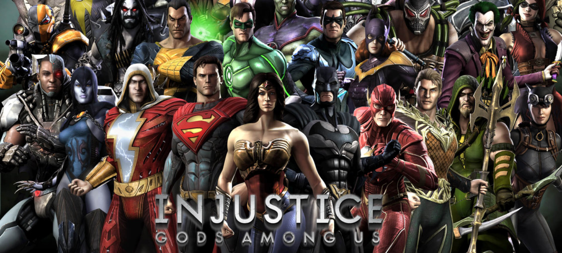 Injustice gods among us wallpaper