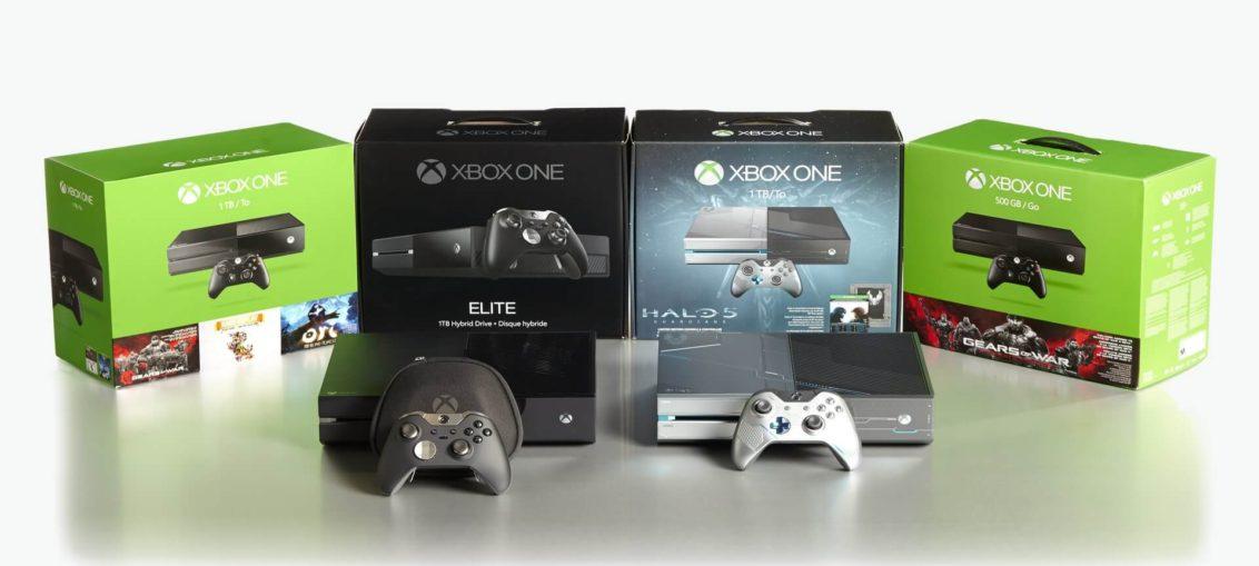 Consolas de Xbox One