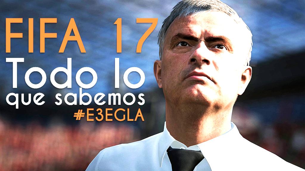 FIFA 17 Mourinho - PORTADA EGLA