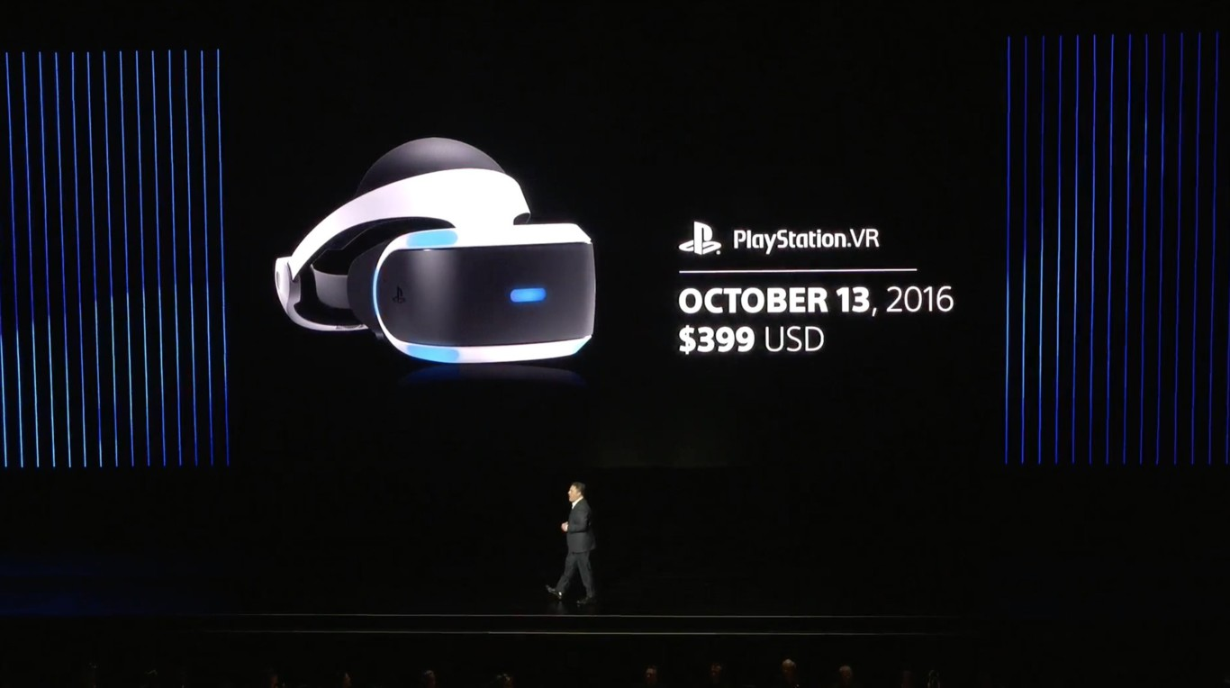 Playstation VR E3 2016 EGLA