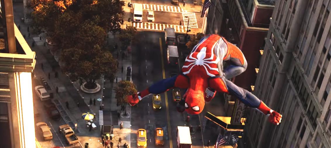 Spiderman Ps4 Insomniac Games EGLA