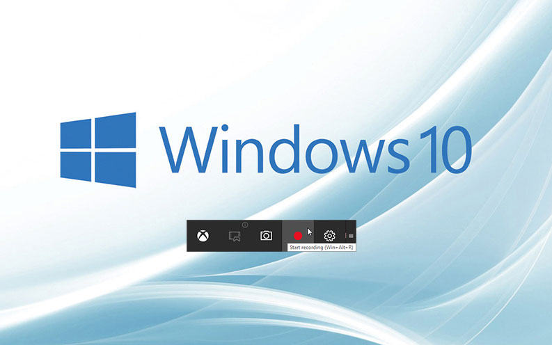 Barra de captura de Windows 10