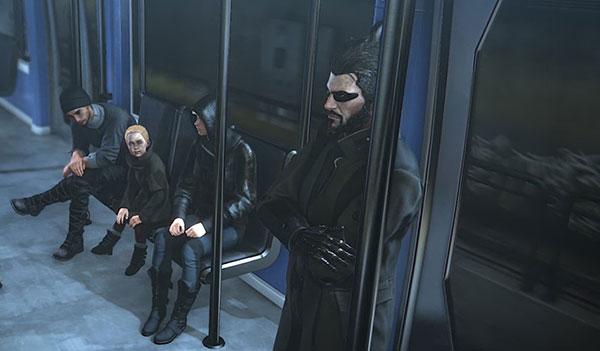 Deus Ex: Mankind Divided - Tren