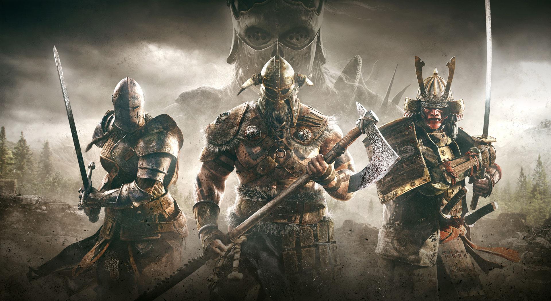 For Honor guerreros
