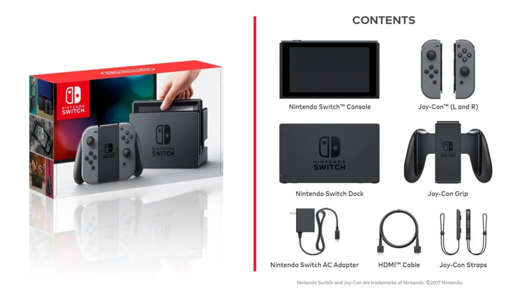 Nintendo Switch Contenido Base